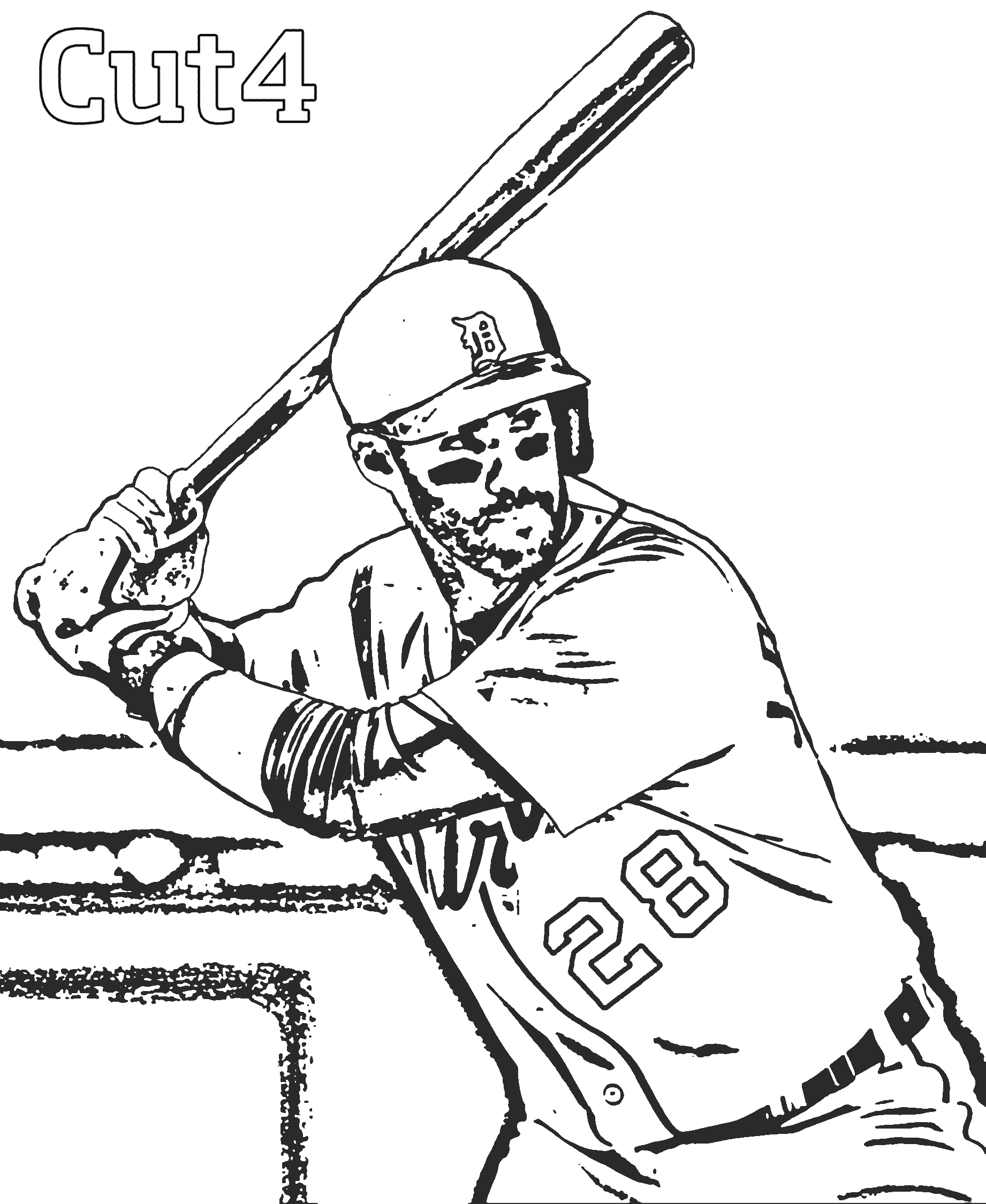 cubs baseball coloring pages free printable major league baseball mlb coloring pages baseball pages cubs coloring