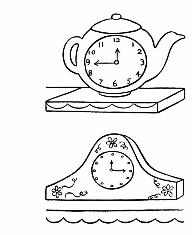cuckoo clock coloring page free coloring pages of cuckoo clock drawing clock clock cuckoo page coloring