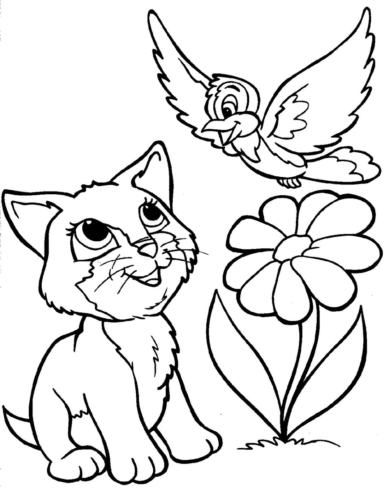 cute coloring animal pages cute coloring pages of animals coloring home animal cute coloring pages