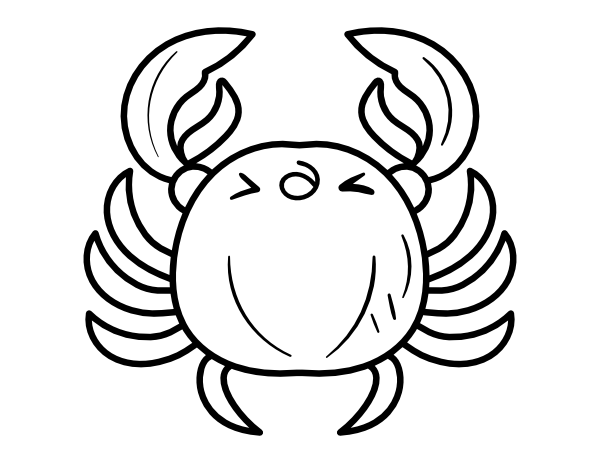 cute crab coloring pages crab coloring page free printable coloring pages crab coloring pages cute
