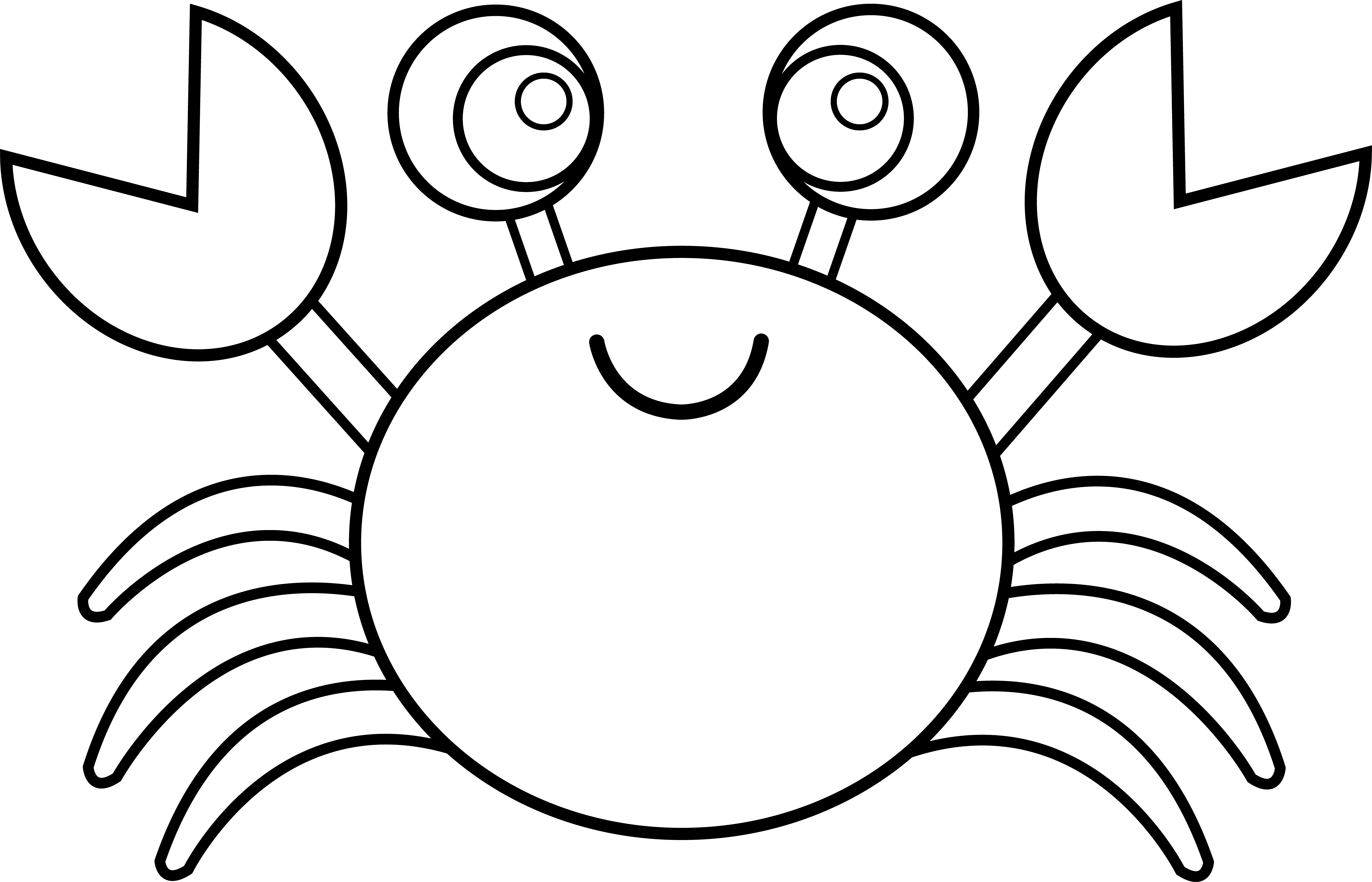 cute crab coloring pages free coloring pages for toddlers crab k5 worksheets coloring cute pages crab