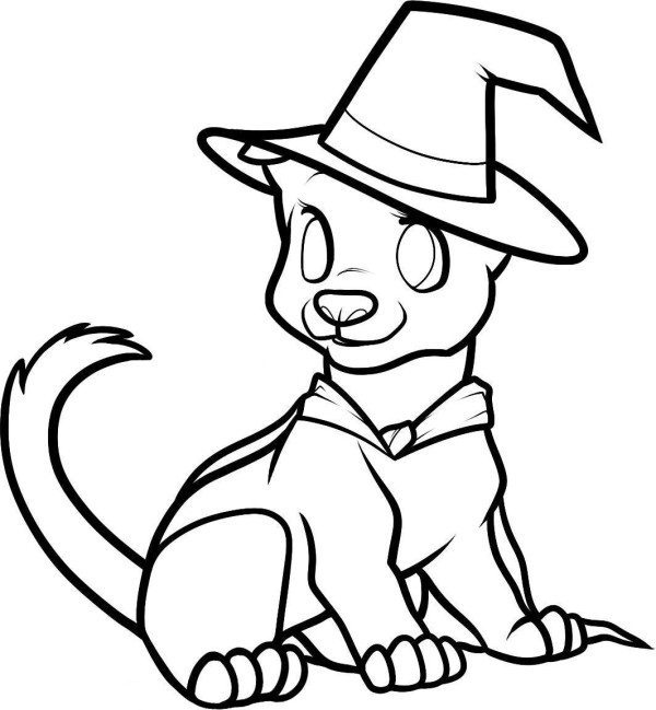 cute halloween coloring pages 30 cute halloween coloring pages for kids scribblefun coloring halloween pages cute 1 1
