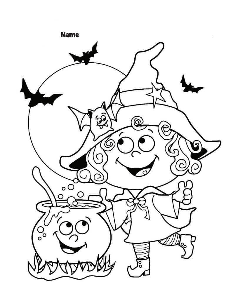cute halloween coloring pages 50 free printable halloween coloring pages for kids cute pages halloween coloring