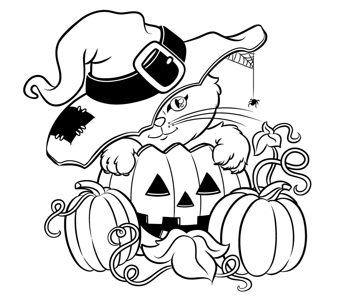 cute halloween coloring pages halloween coloring page cute witch free kids crafts cute coloring halloween pages