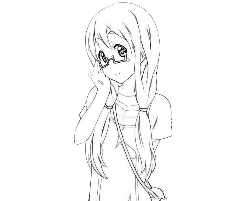 cute k coloring pages k on after school live tsumugi kotobuki cute how coloring k coloring pages cute