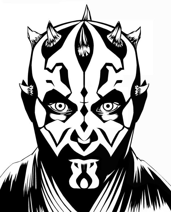 darth maul coloring page star wars coloring pages darth maul at getcoloringscom maul page darth coloring