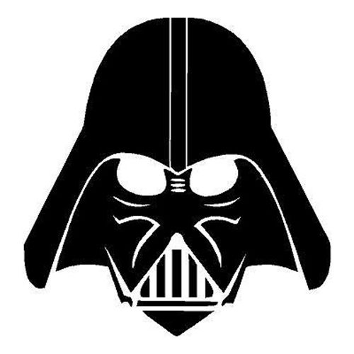 darth vader silhouette battery clipart at getdrawings free download darth vader silhouette