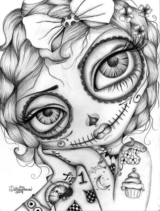 day of dead coloring pages dia de los muertos day of the dead to color for children of dead day pages coloring