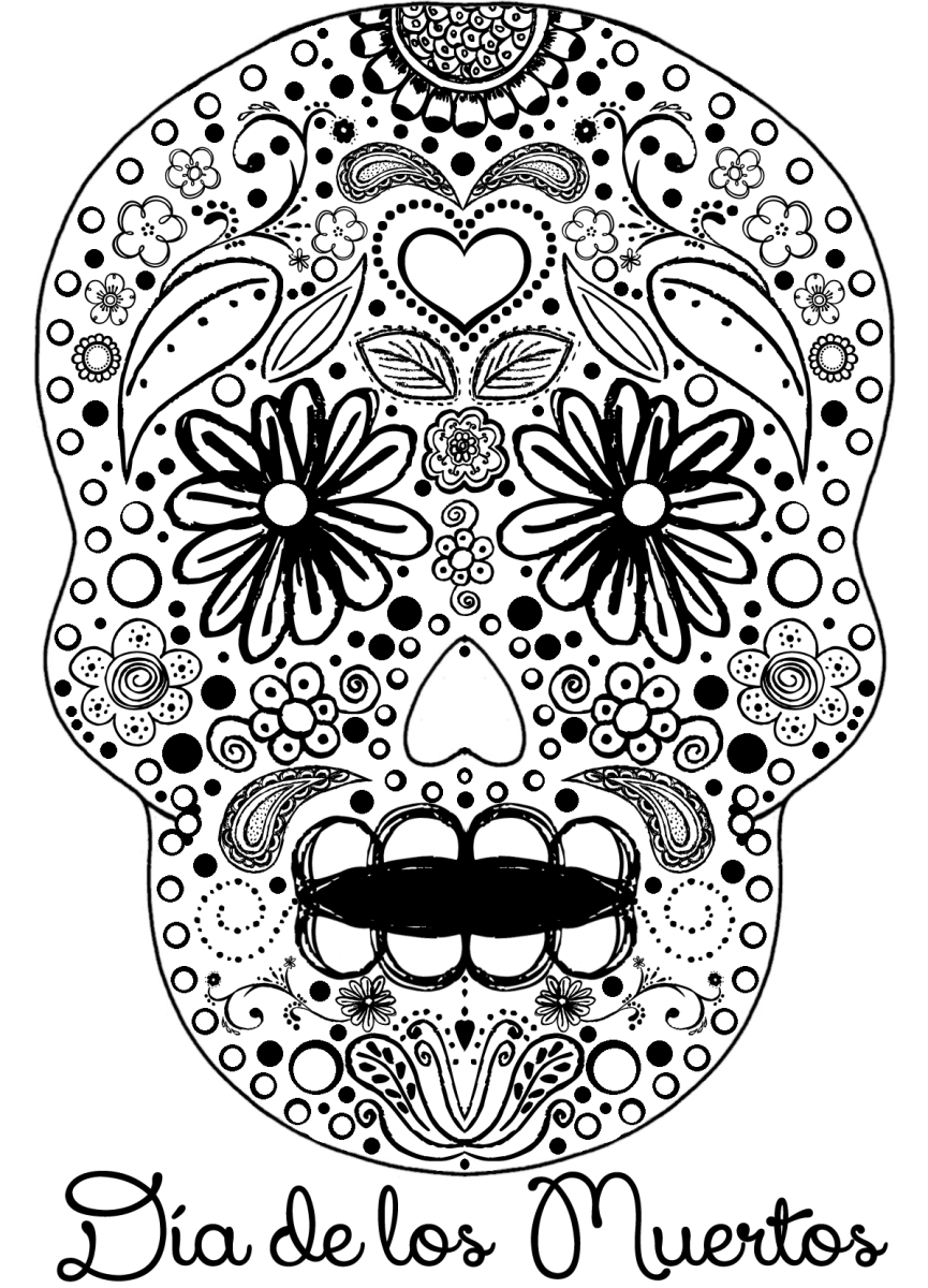 day of dead coloring pages free printable day of the dead coloring pages best of pages day coloring dead