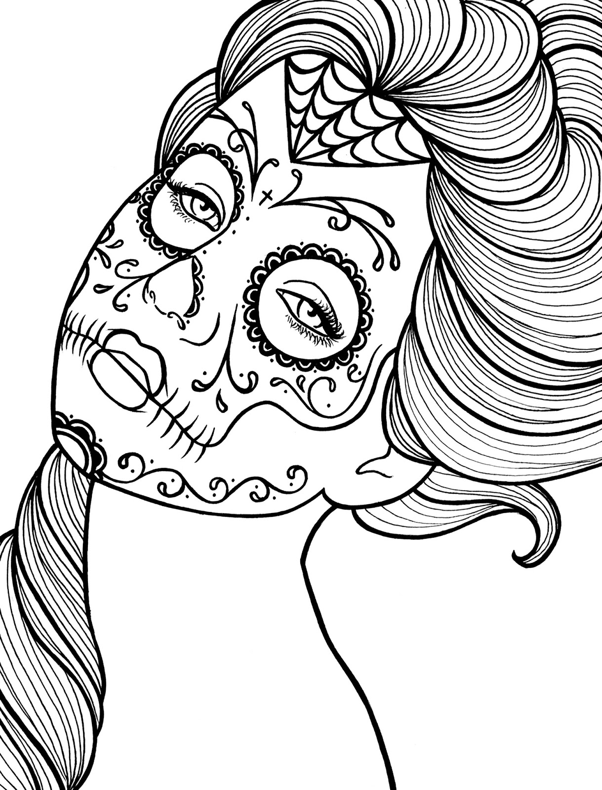 day of dead coloring pages free printable day of the dead coloring pages free printable pages dead of day coloring