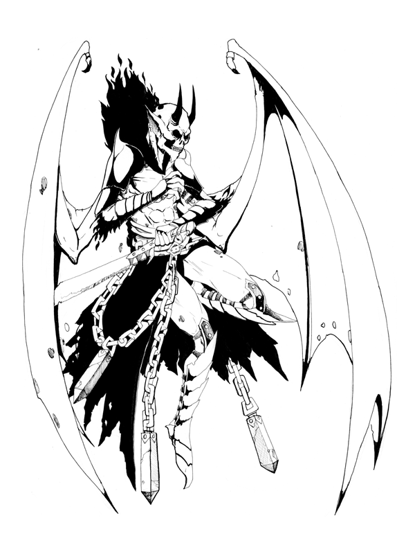 demon anime coloring pages female demon coloring pages anime coloring demon pages