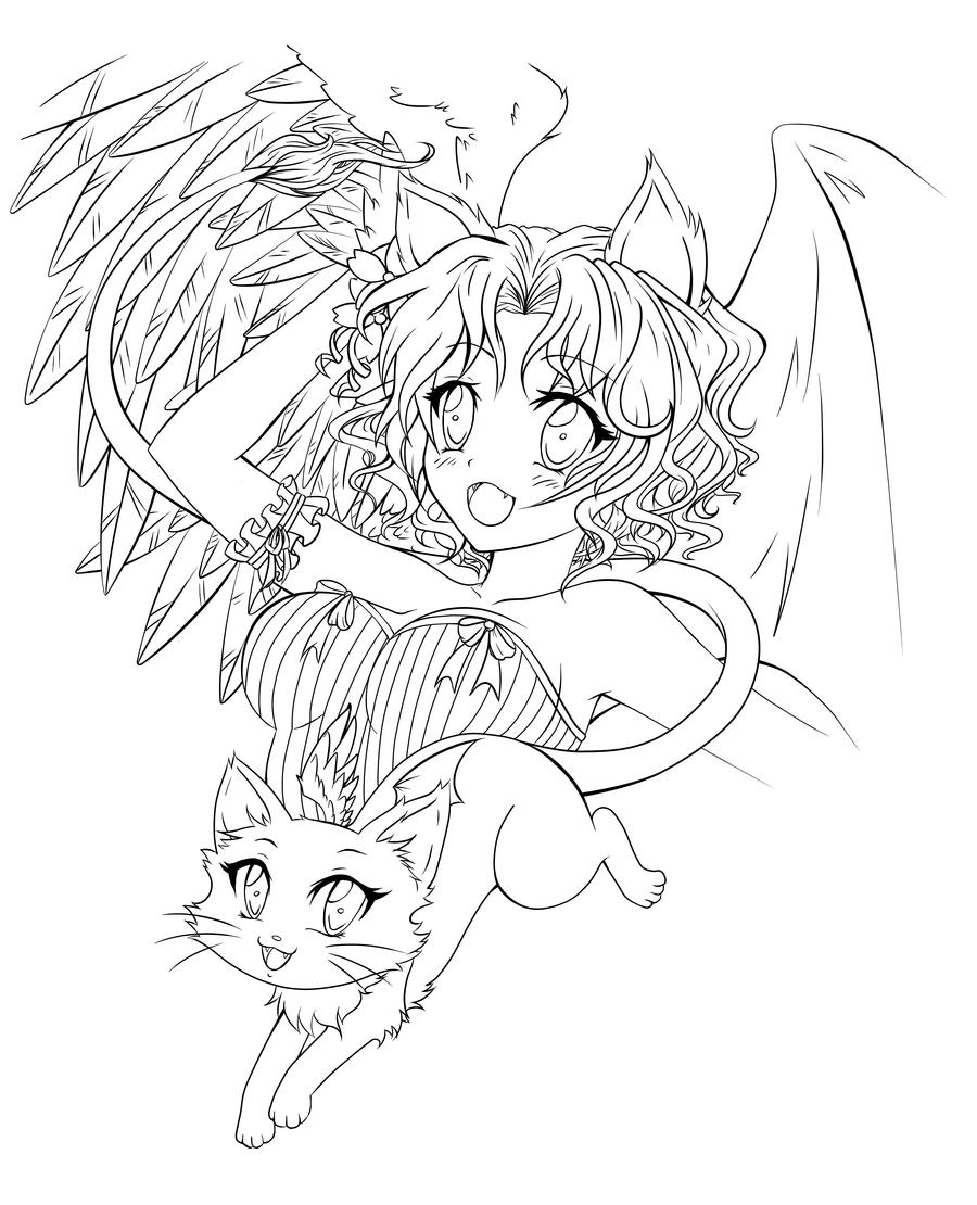demon anime coloring pages inner demons by ultraseven81 on deviantart adult demon coloring anime pages