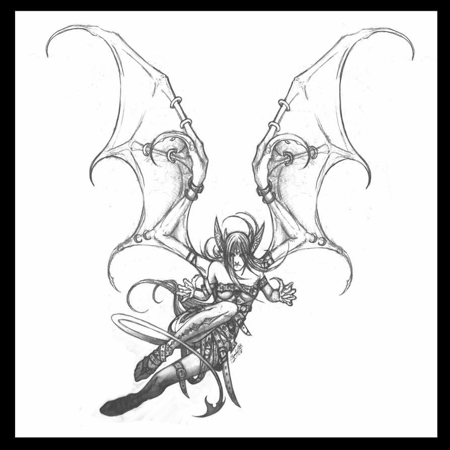 demon anime coloring pages new demon sketch by daitengu on deviantart coloring anime demon pages