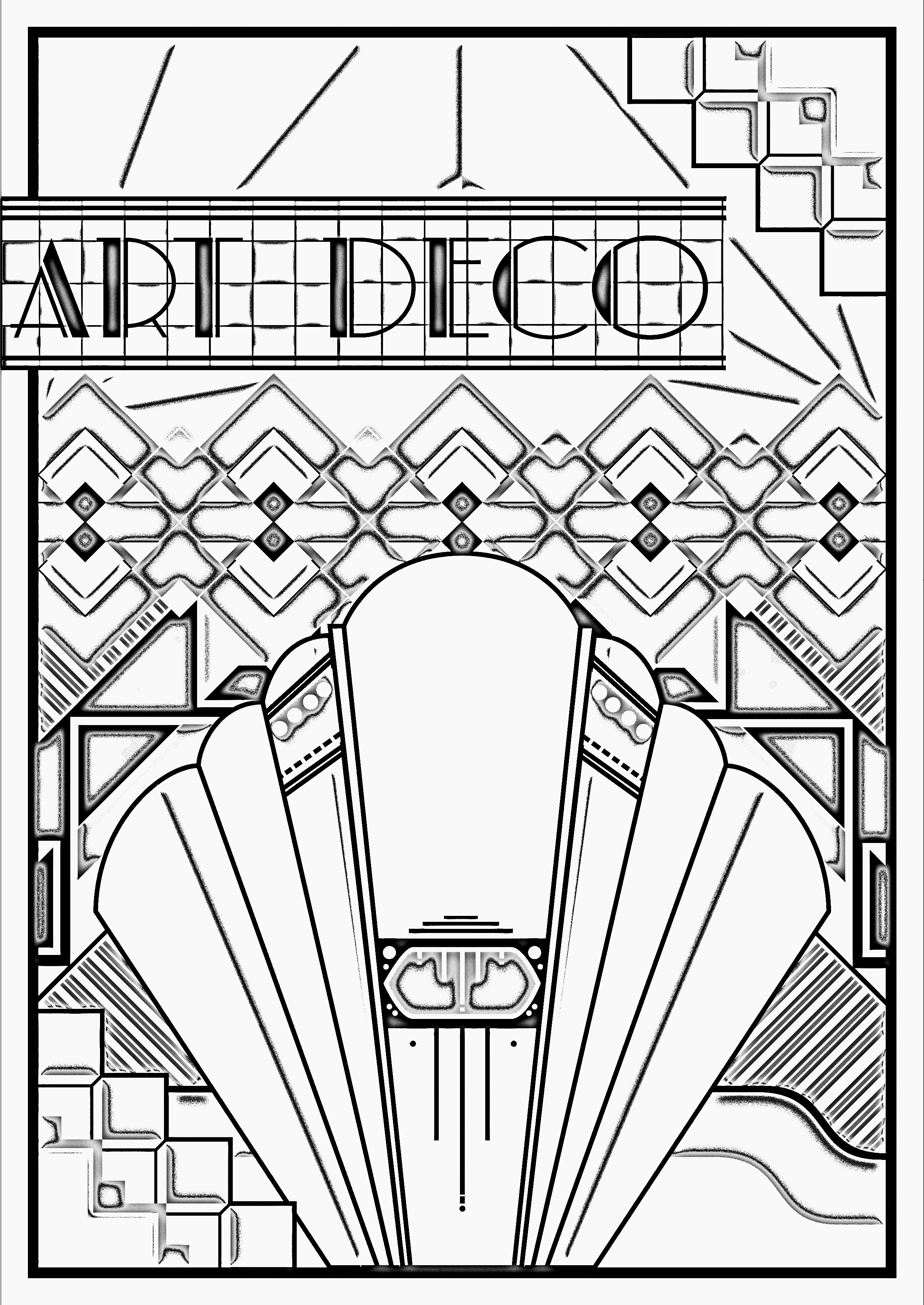 design art coloring pages doodle abstract seamless ornament coloring page doodle coloring pages design art