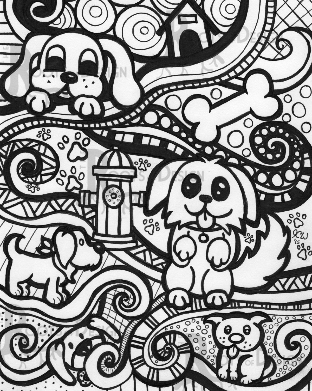 design art coloring pages geometric designs for adults who color live your life in coloring art design pages