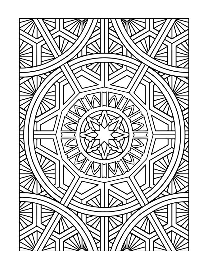 design art coloring pages get this free printable art deco patterns coloring pages design coloring pages art