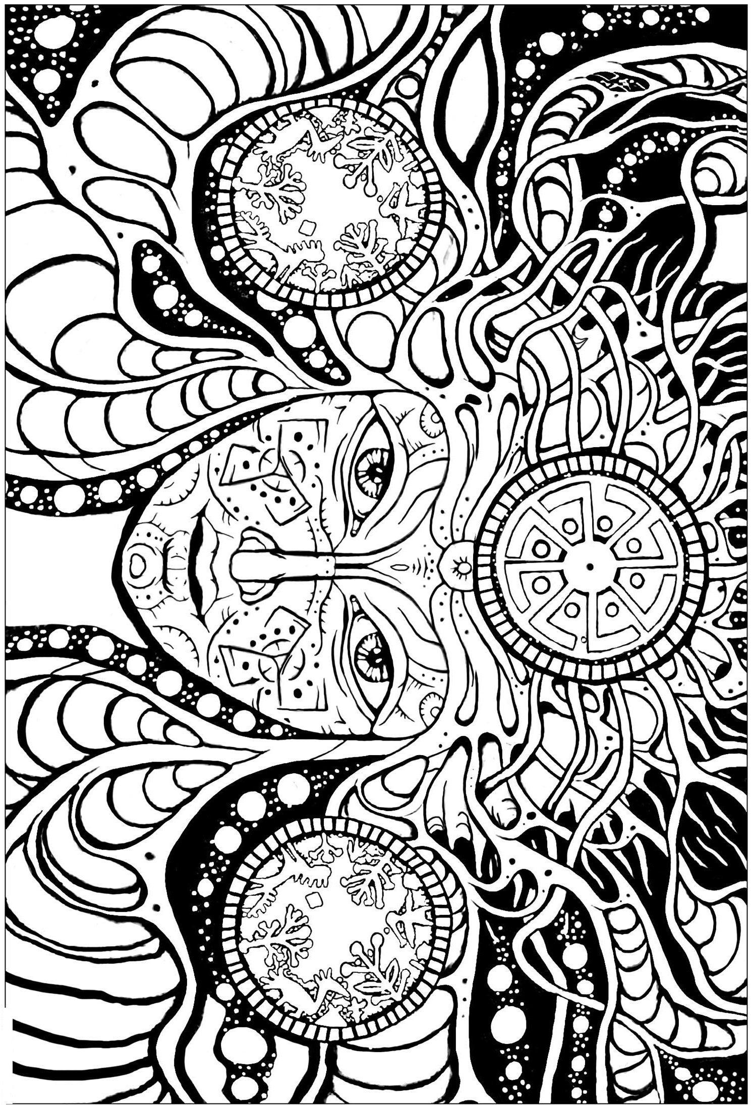 design coloring pictures rosette intricate patterns coloring page free coloring design pictures coloring