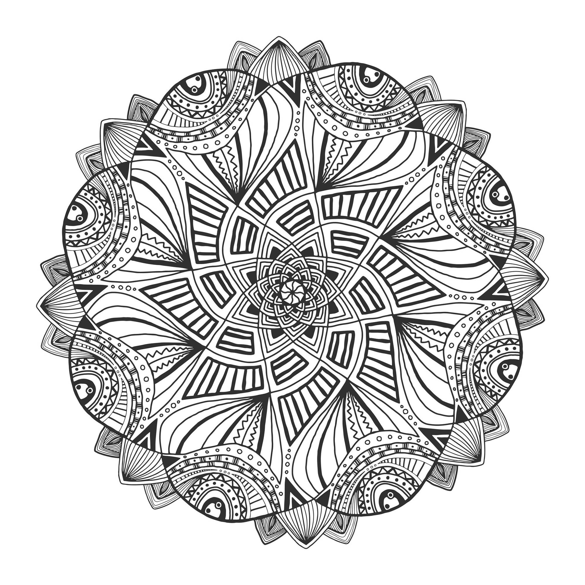 design pictures to color free printable geometric coloring pages for adults to pictures color design