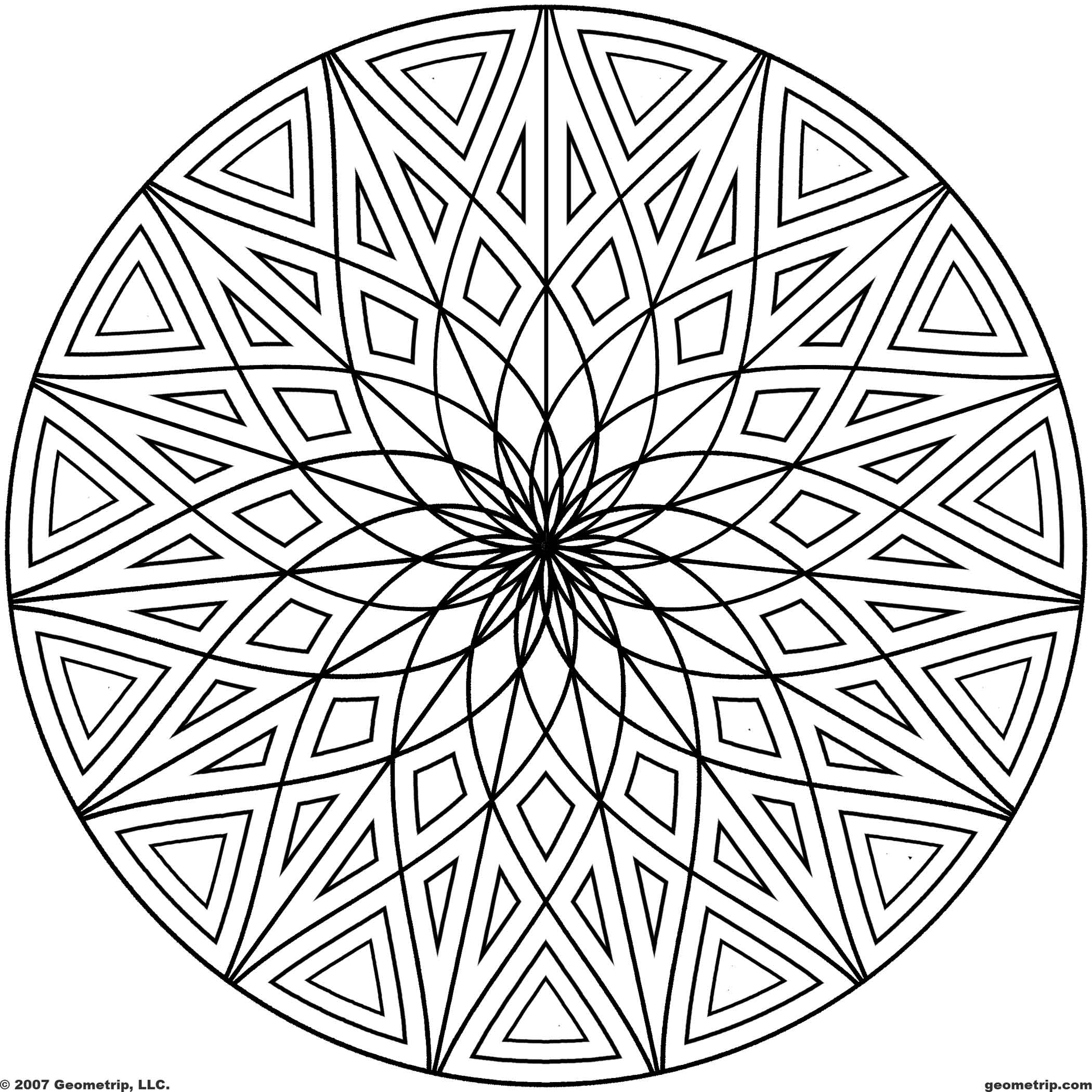 design pictures to color free printable geometric coloring pages for kids pictures color to design