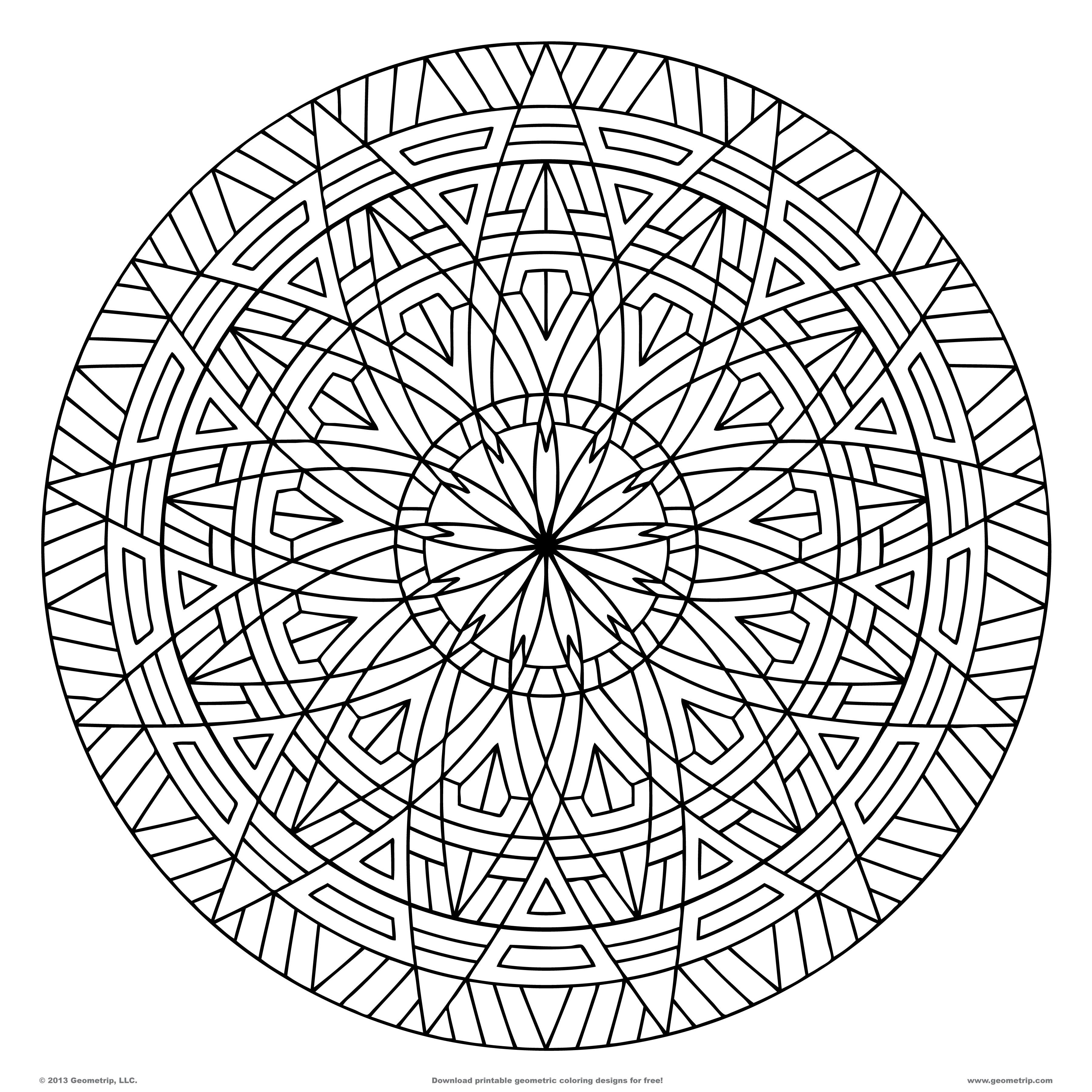 designs coloring pages free printable geometric coloring pages for adults coloring pages designs