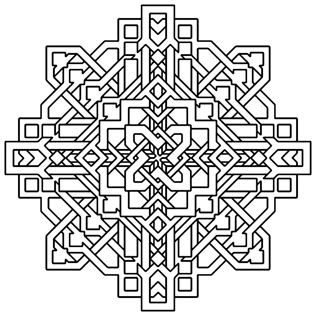 designs to color free free printable geometric coloring pages for kids color designs free to