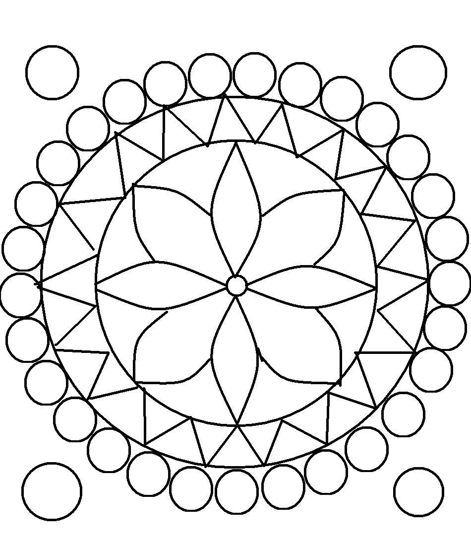 designs to color free free printable rangoli coloring pages for kids designs color to free