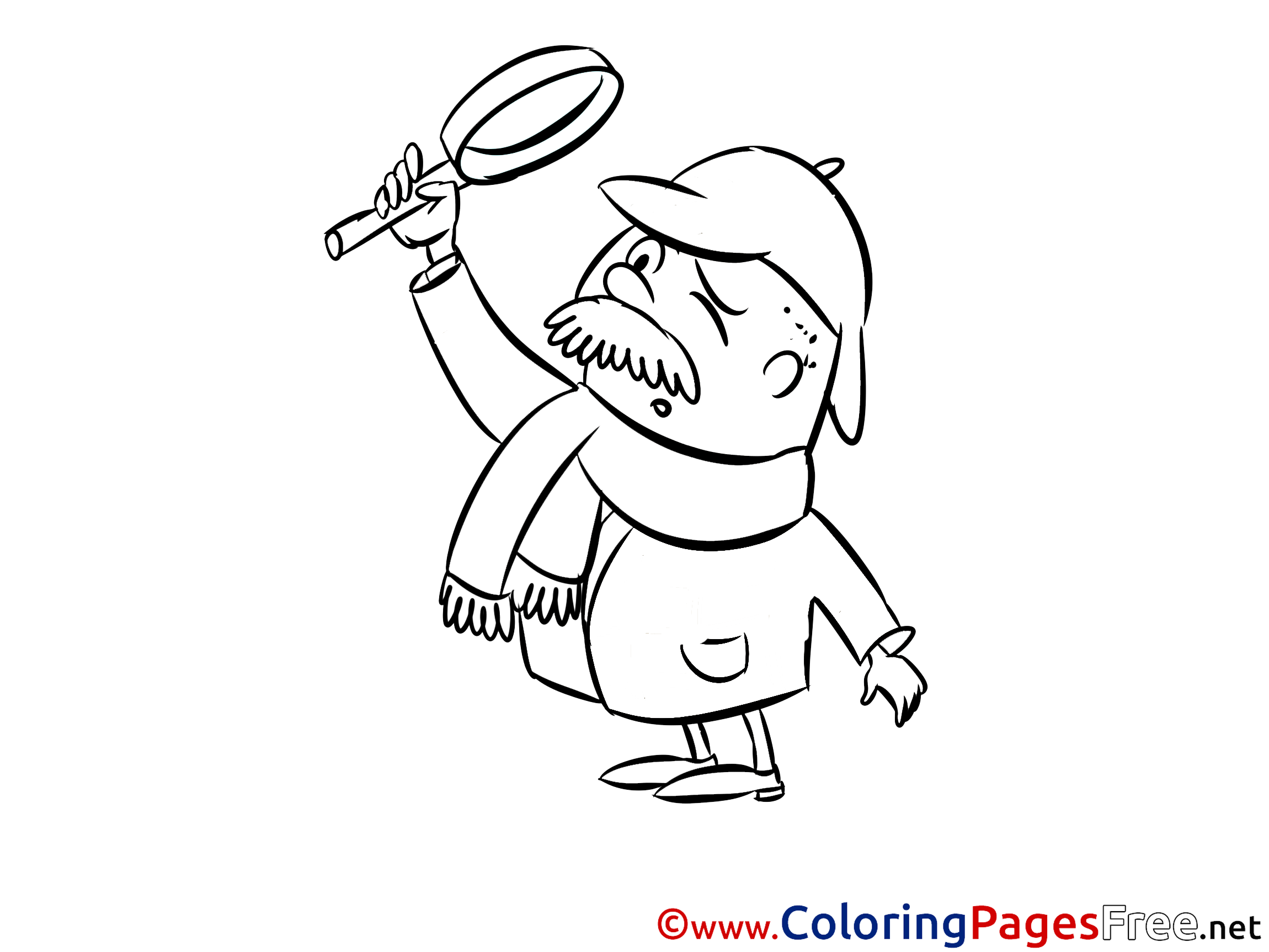 detective coloring pages donald duck the private detective coloring pages coloring detective pages