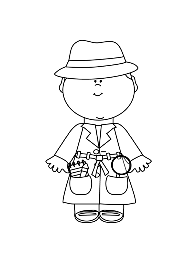 detective coloring pages the great mouse detective flaversham cartoon coloring pages pages detective coloring