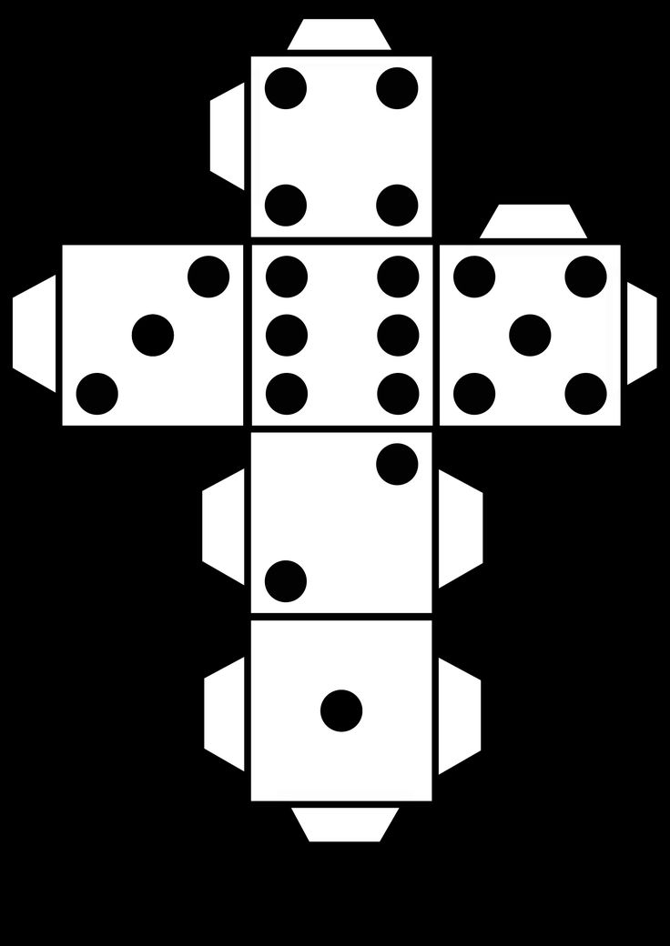 dice print printable die dice by snifty a template for printing out dice print