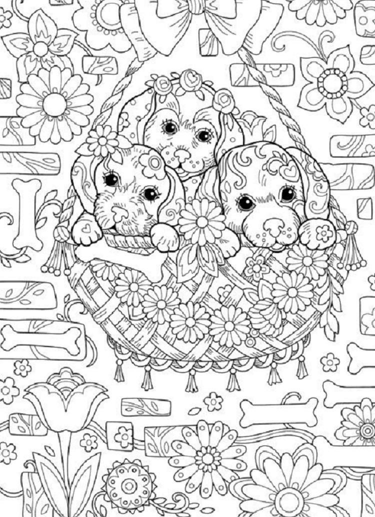 difficult dog coloring pages dogs coloring pages difficult adult coloring home dog difficult pages coloring