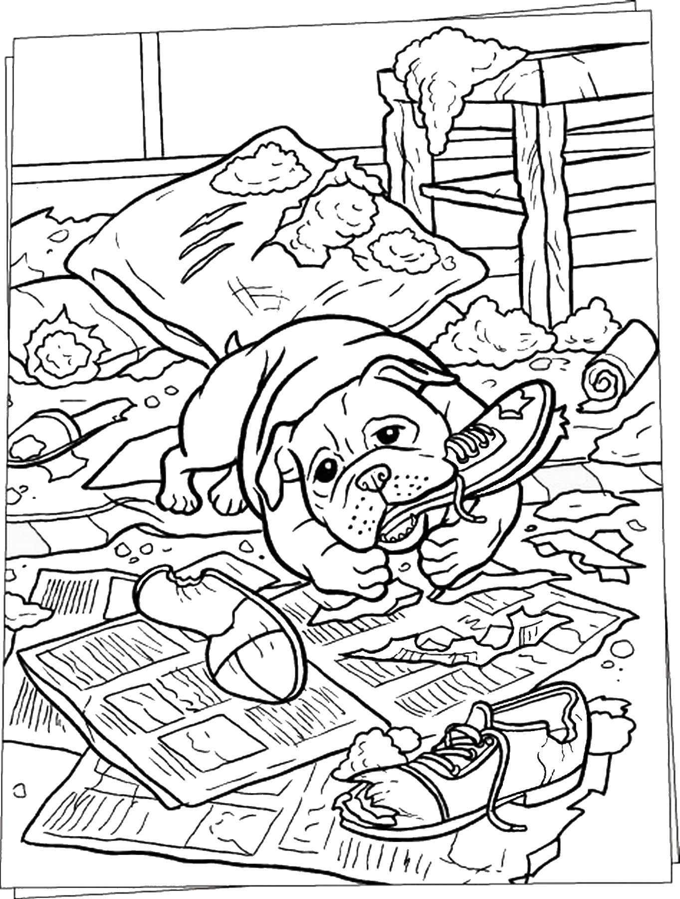 difficult dog coloring pages hard pictures of dogs coloring pages coloring dog pages difficult