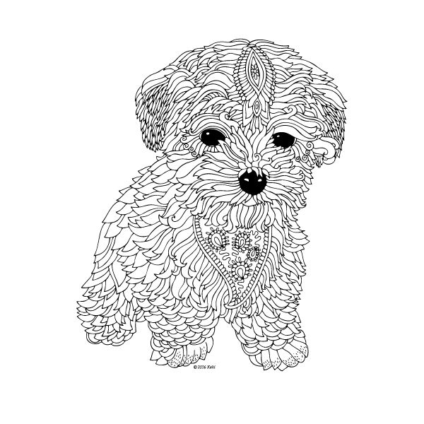 difficult dog coloring pages pug dog coloring pages coloring home dog coloring pages difficult