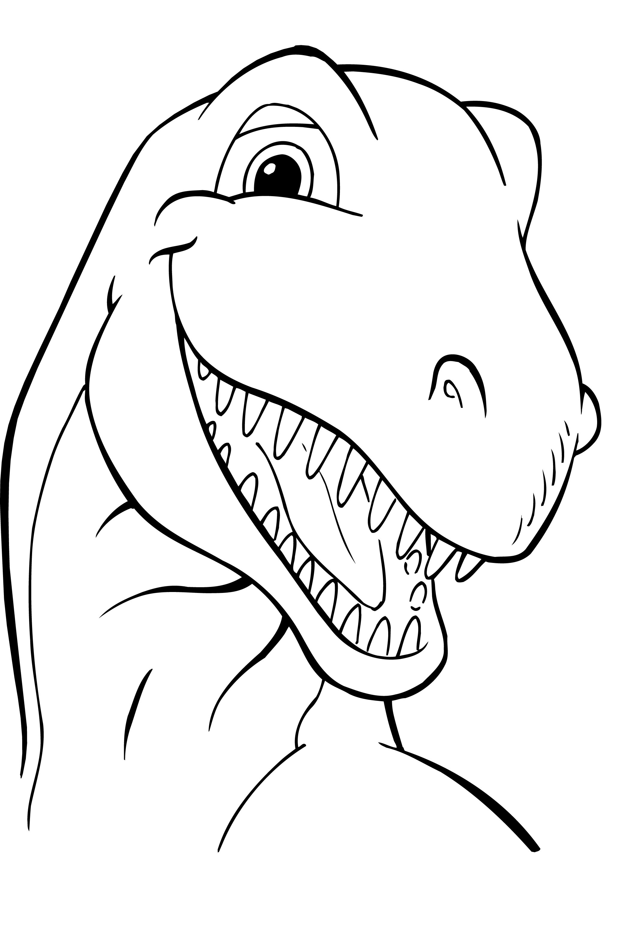dinosaur colouring pictures to print easy dinosaur coloring pages coloring home pictures colouring print to dinosaur