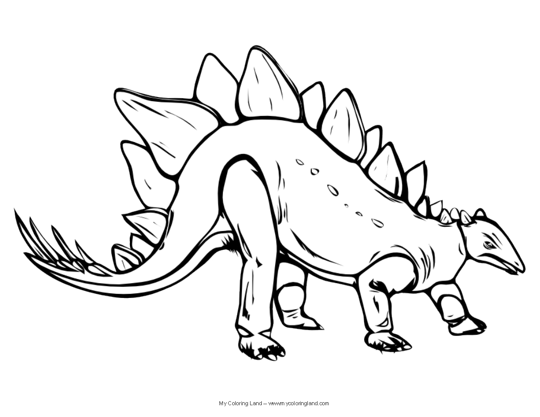 dinosaur to color dinosaur my coloring land dinosaur color to