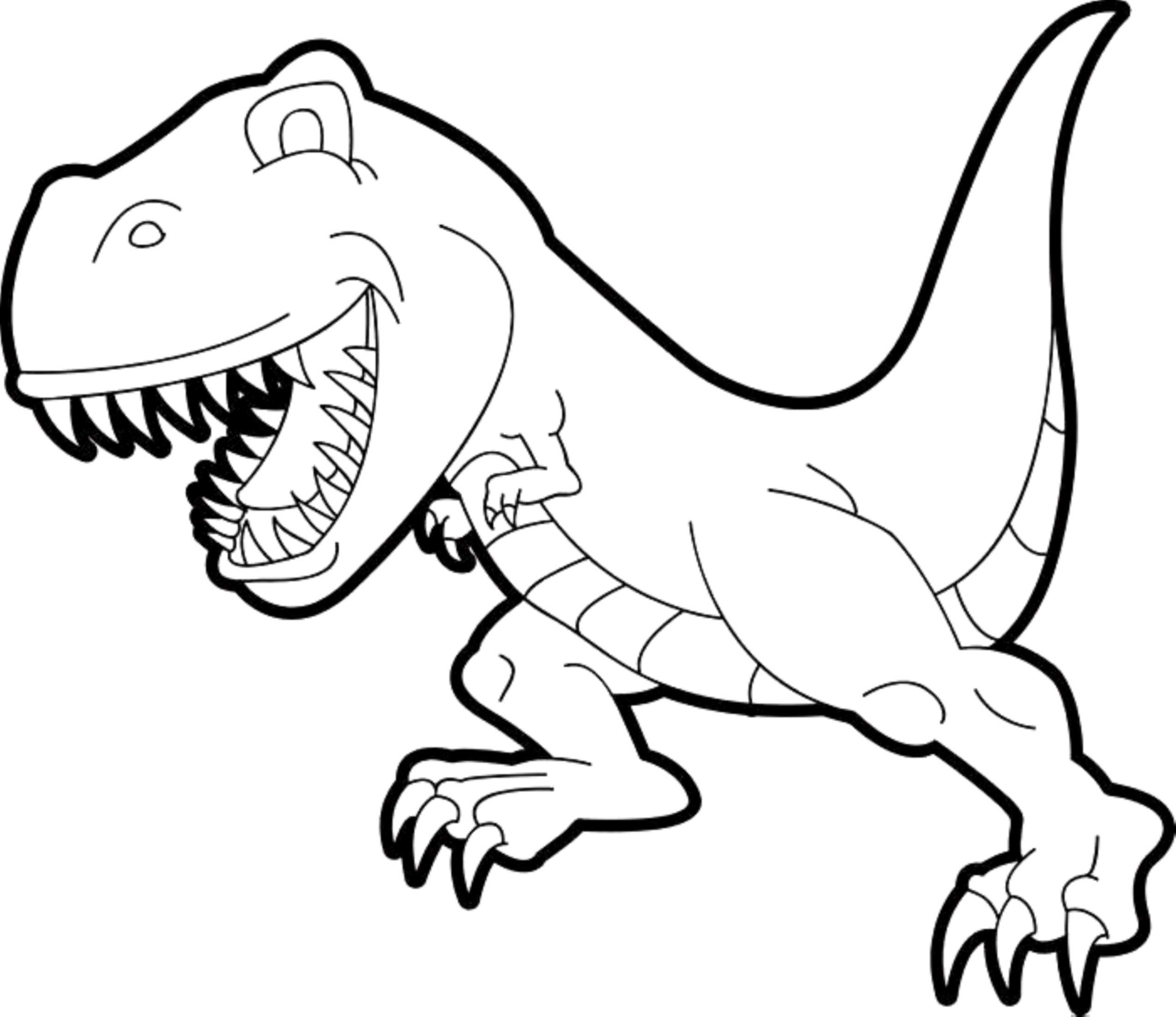 dinosaur to color easy dinosaur coloring pages coloring home color to dinosaur