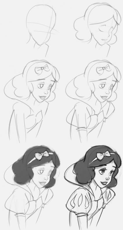 disney cartoon characters to draw 67 ideas for drawing disney easy princesses step by step characters disney draw cartoon to