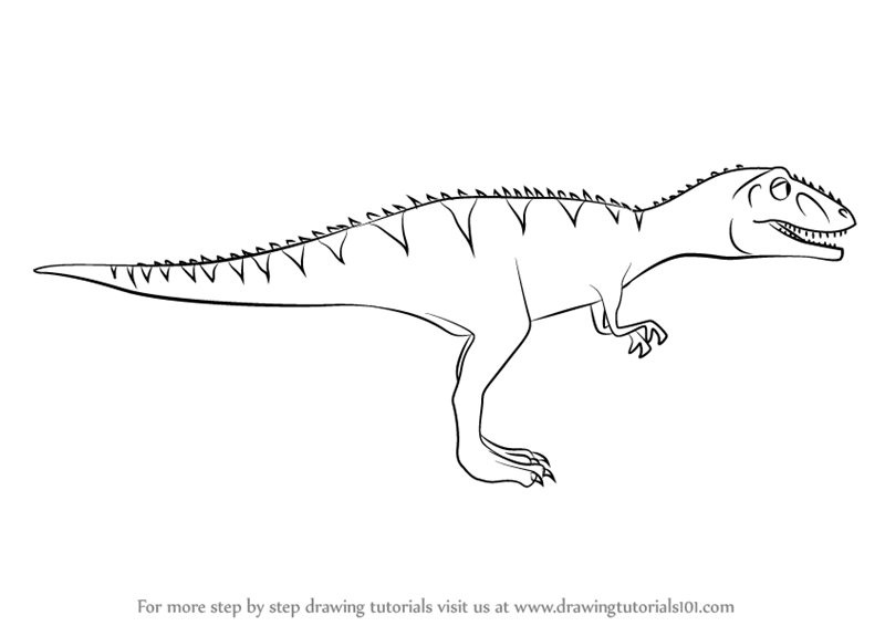 disney giganotosaurus coloring page pages disney coloring giganotosaurus draw laura learn how disney page giganotosaurus coloring