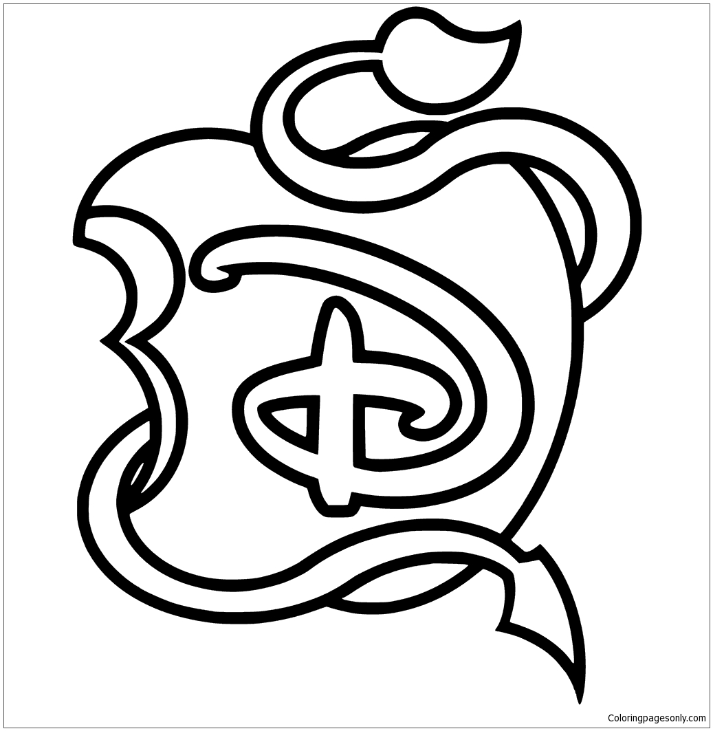 disney logo coloring pages disney logo coloring pages at getcoloringscom free logo coloring disney pages