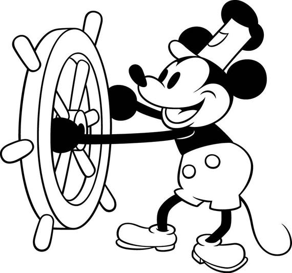 disney logo coloring pages disney mickey mouse steamboat willie vinyl decal for cars pages logo disney coloring