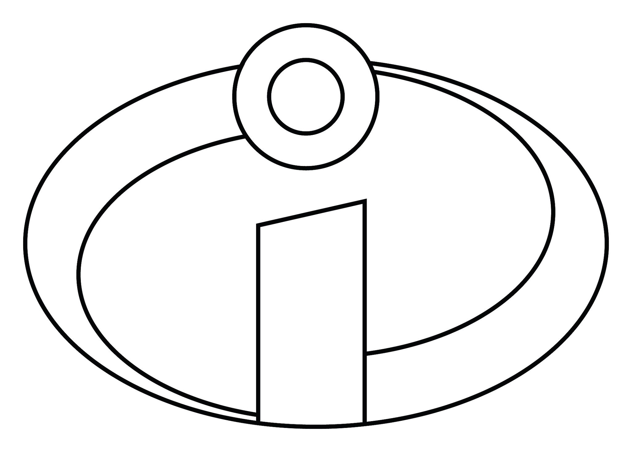 disney logo coloring pages last minute diy the incredibles baby costume incredibles coloring logo disney pages
