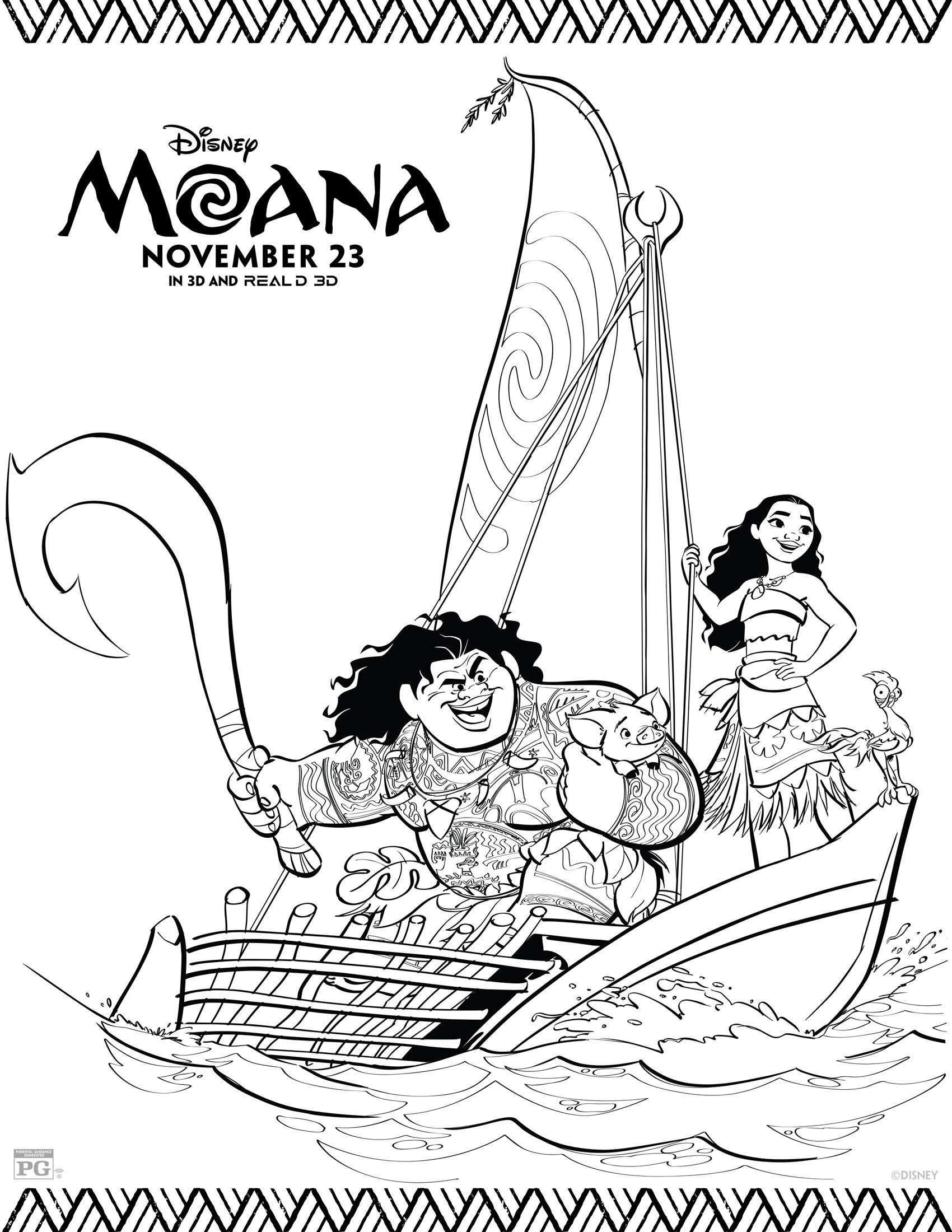disney moana coloring pages disney39s moana coloring pages and activity sheets printables disney moana coloring pages
