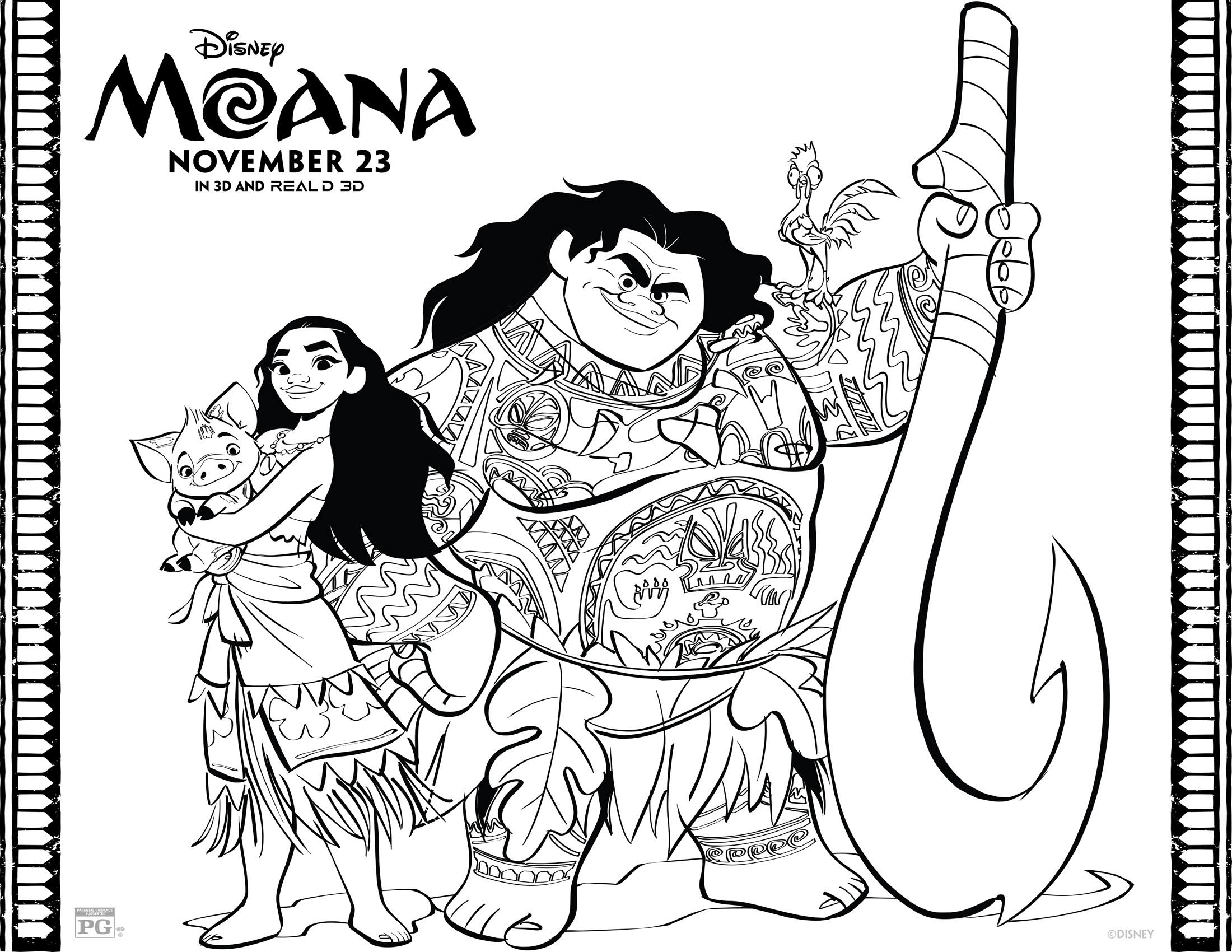 disney moana coloring pages disney39s moana coloring pages and activity sheets printables moana disney coloring pages