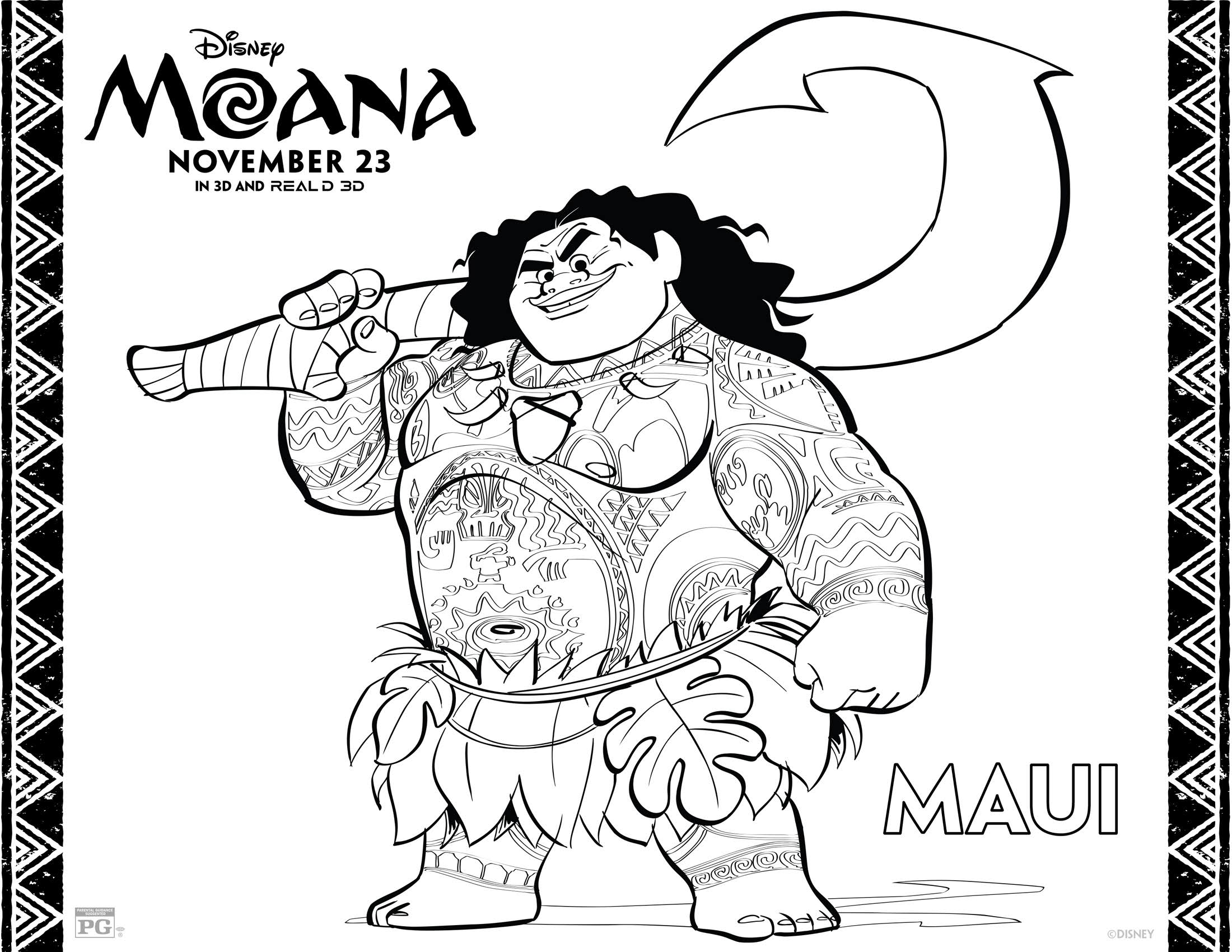 disney moana coloring pages moana coloring pages free printables from disney coloring disney moana pages