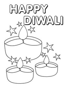 diwali cards to colour diwali candle coloring page free printable coloring pages to cards diwali colour