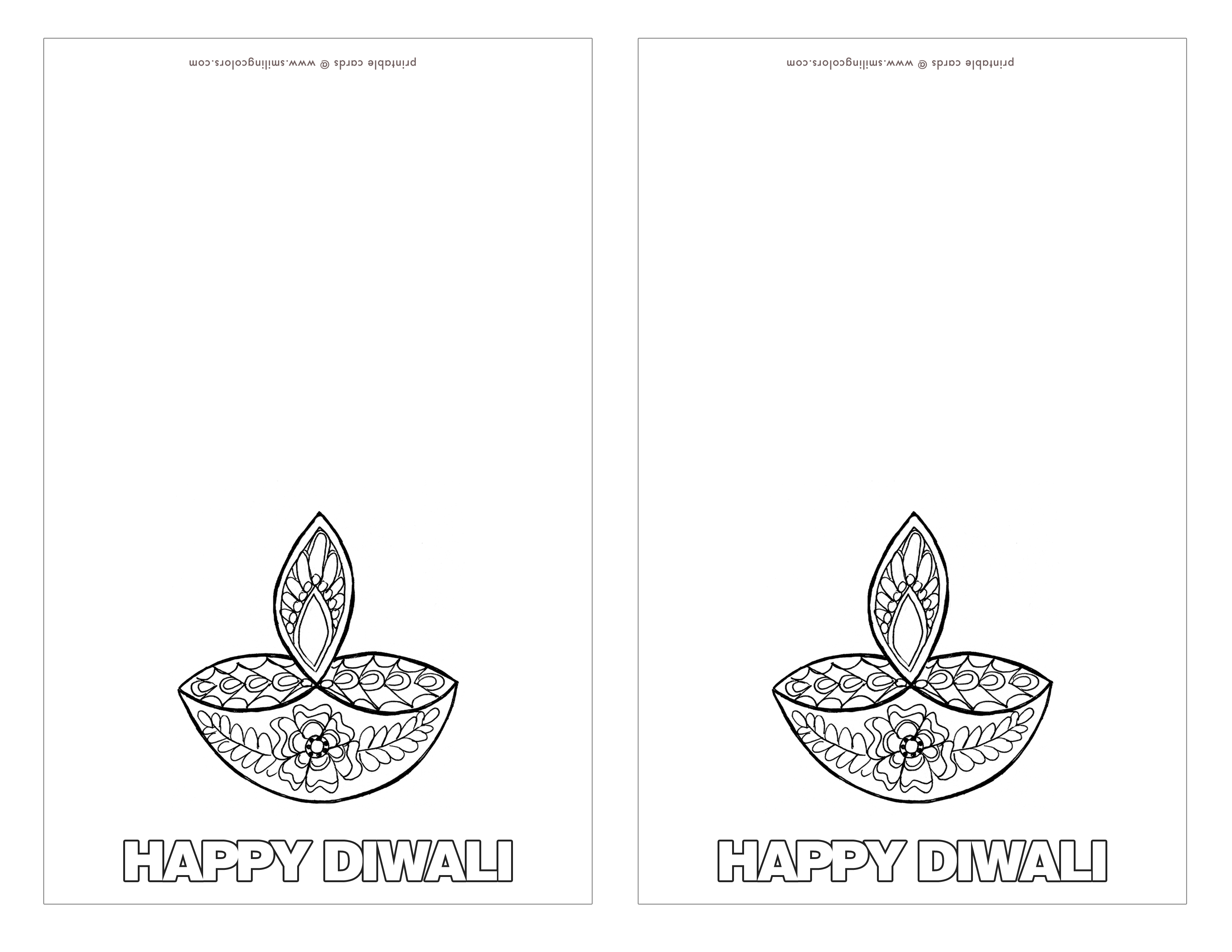 diwali cards to colour diwali cards to coloring coloring pages diwali cards to colour