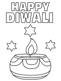 diwali cards to colour diwali images to color diwali colour to cards