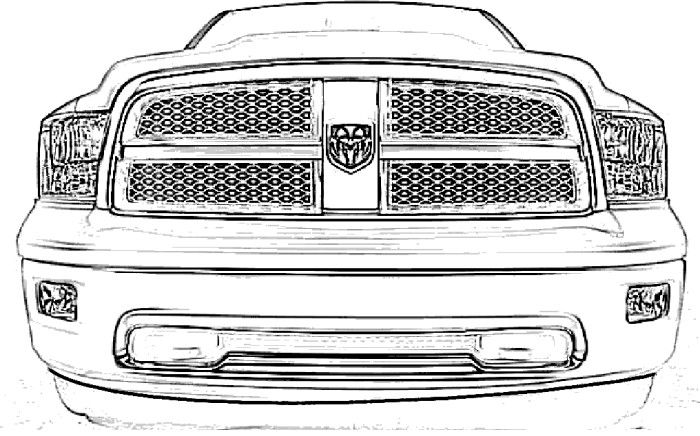 dodge ram truck coloring pages dodge ram coloring page coloring home ram pages truck dodge coloring