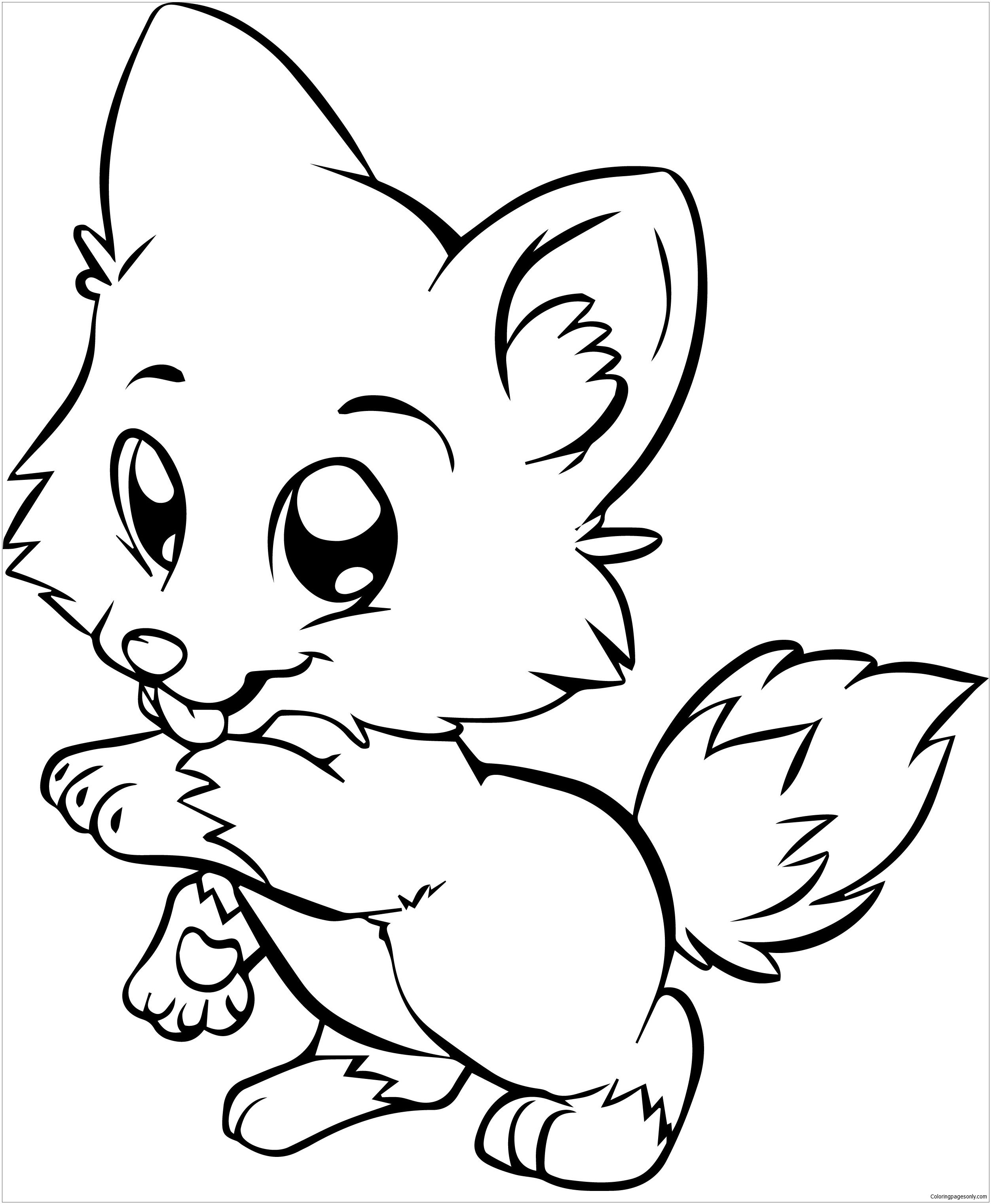 dog coloring in pomeranian puppy coloring pages at getcoloringscom free coloring dog in