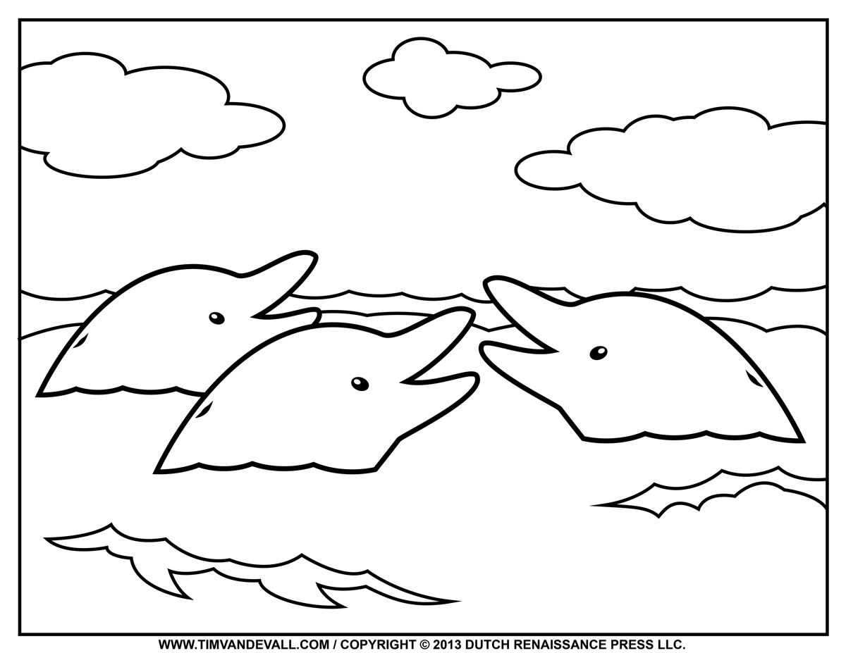 dolphin coloring pictures to print dolphin coloring page 02 tim39s printables dolphin to coloring pictures print