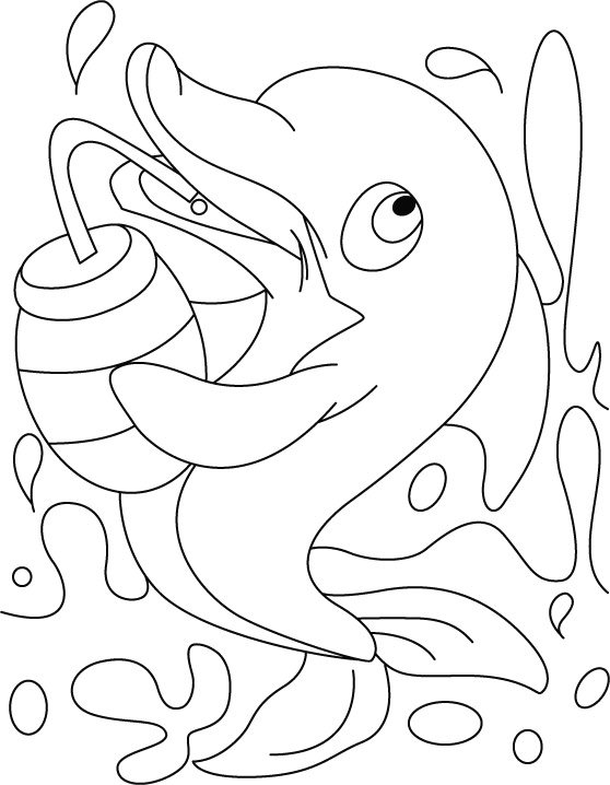 dolphin colouring dolphin coloring page 1 color kid stuff colouring dolphin